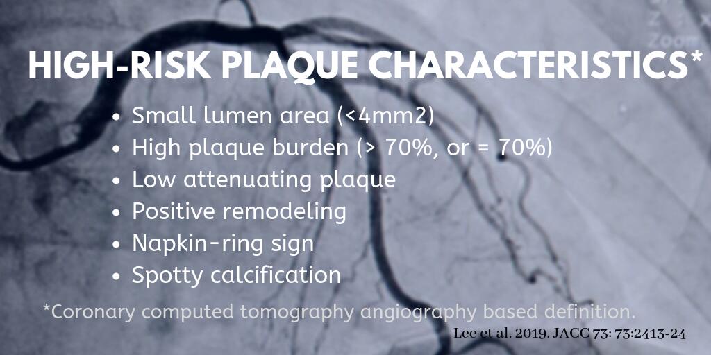 Prognostic value of plaque vulnerability assessment for CAD patients