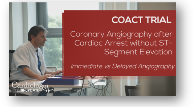 COACT trial - Immediate vs delayed angiography
