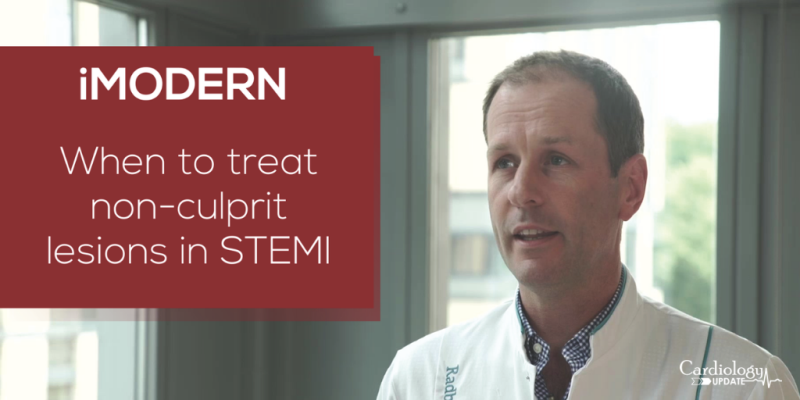 iMODERN: When to treat non-culprit lesions in STEMI