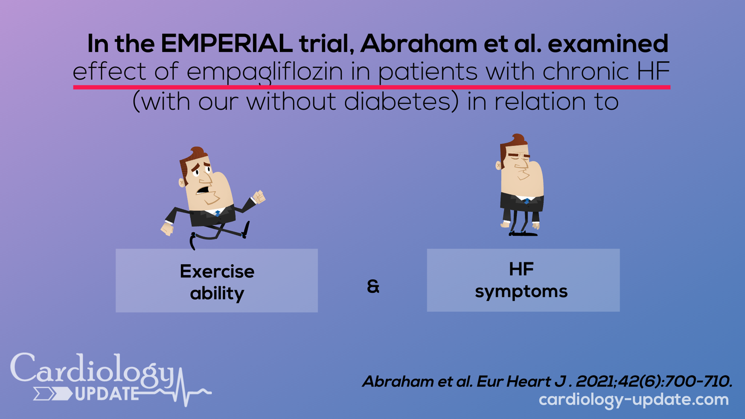 Effect of Empagliflozin on exercise ability and symptoms in heart failure patients