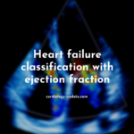 Heart failure classification with ejection fraction